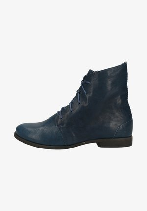 Lace-up ankle boots - azur 8000