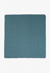 Cotton On - BUNDLE NEWBORN ZIP ROMPER BLANKET BEANIE SET - Beanie - deep pool blue/forest - 2