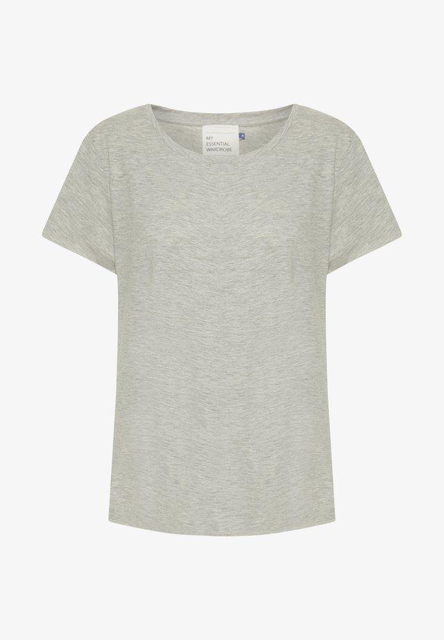 THE OTEE - T-shirt basique - titanium melange