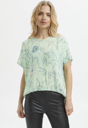 KAALLY AMBER - Blouse - lichen green