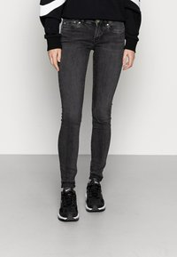 Pepe Jeans - PIXIE - Jeans Skinny Fit - black - 0