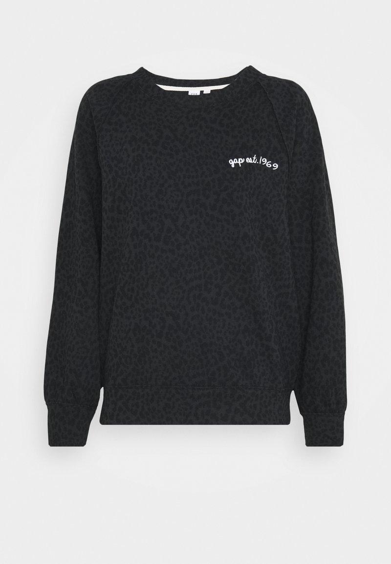 GAP - CREW - Sweatshirt - charcoal