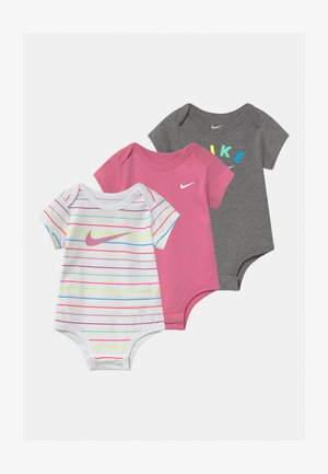 RAINBOW STRIPE 3 PACK - Body - white