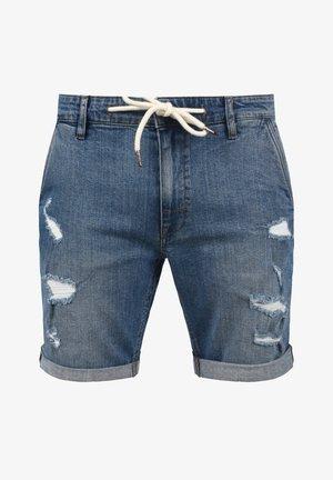 DALLIAN - Denim shorts - denim lightblue