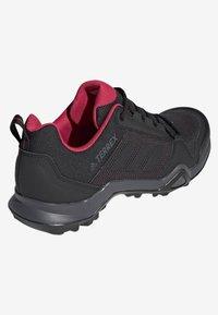 adidas Performance - TERREX AX3 SHOES - Chaussures de marche - black - 4