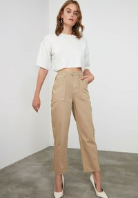 Trendyol - Trousers - brown - 1