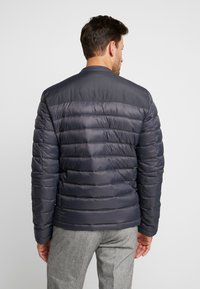 Superdry - COMMUTER QUILTED BIKER - Light jacket - iron gate - 2