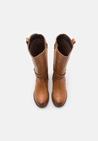 Friboo - Vysoká obuv - cognac - 3