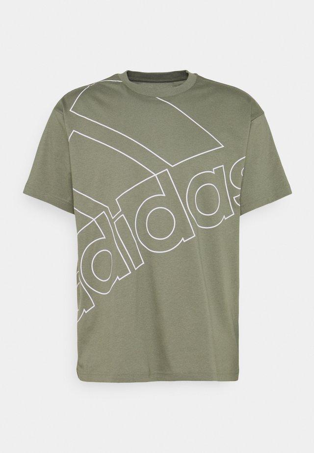 Print T-shirt - legacy green/white