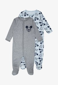 Name it - NBMMICKEY BERT NIGHTSUIT BABY 2 PACK - Pyjamas - baby blue - 0