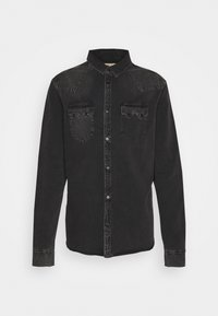 AllSaints - BASSETT SHIRT - Shirt - washed black - 3
