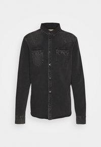 BASSETT SHIRT - Shirt - washed black