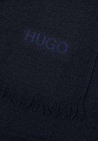 HUGO - UNISEX - Scarf - navy - 3