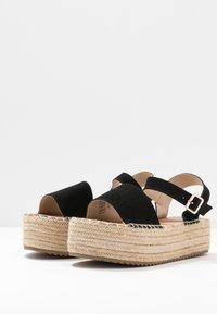 XTI - Platform sandals - black - 4