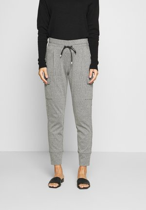 ELENI - Stoffhose - easy grey