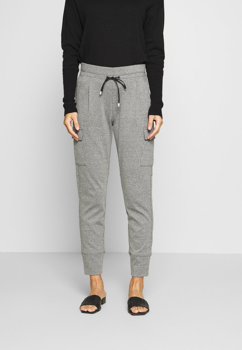 Opus - ELENI - Trousers - easy grey