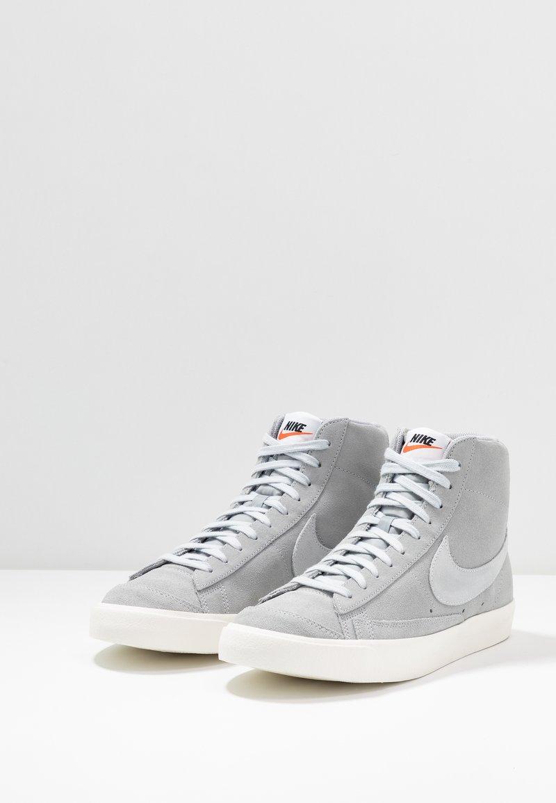 Restricción jazz Plantando árboles  Nike Sportswear BLAZER MID '77 - Zapatillas altas - wolf grey/pure  platinum/sail/gris - Zalando.es