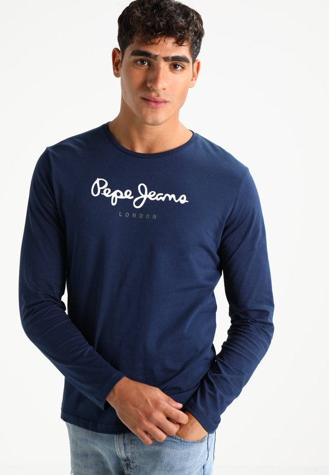 EGGO LONG - T-shirt à manches longues - navy