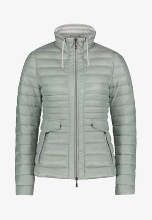GIL BRET STEPPJACKE MIT KUNSTDAUNE - Winter jacket - aqua gray