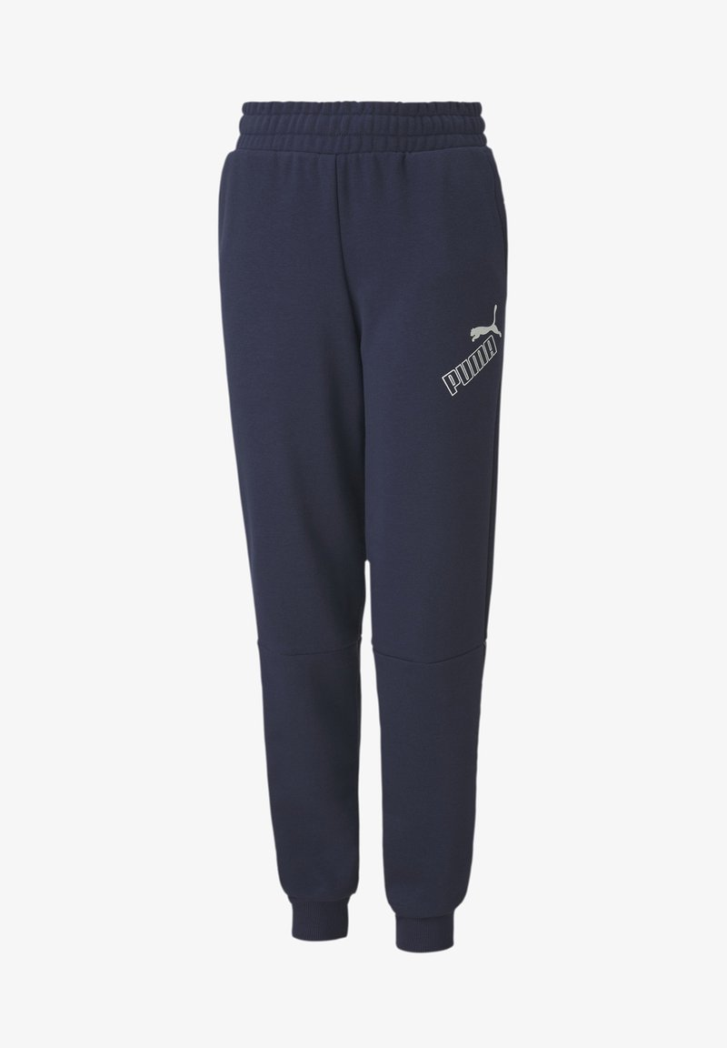 Puma - Tracksuit bottoms - peacoat