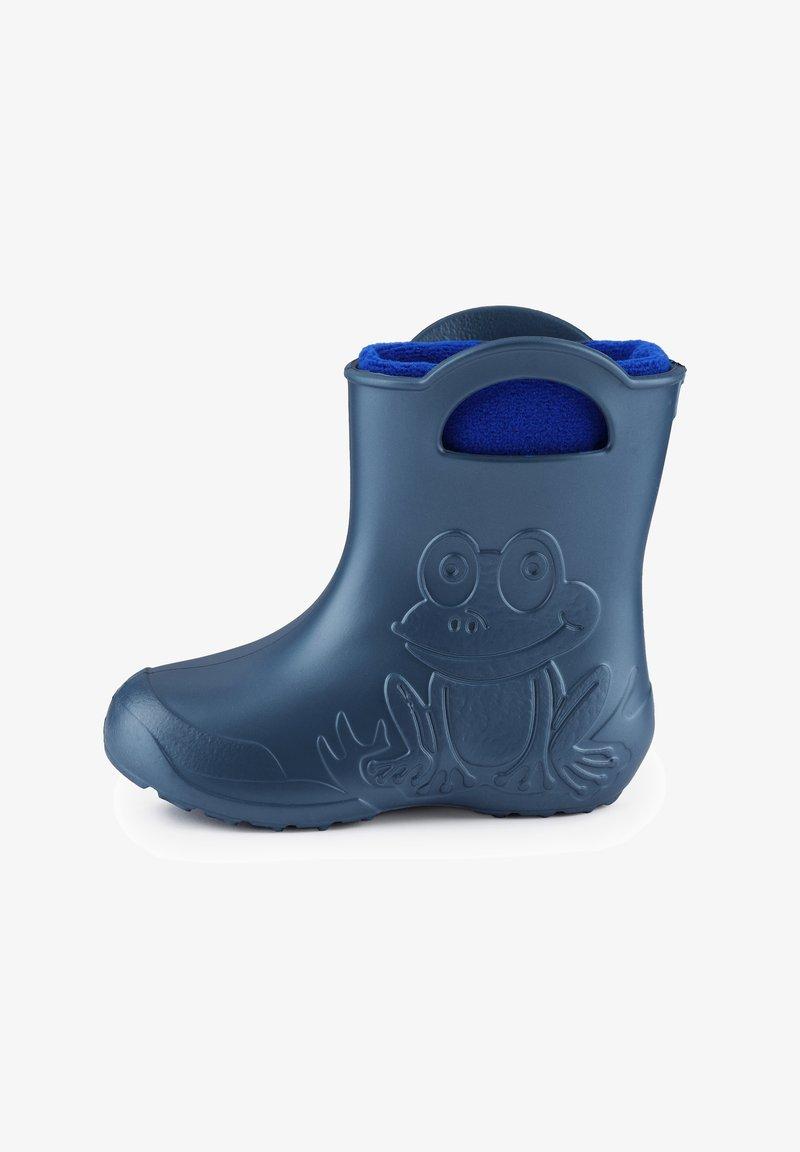 Ladeheid - Regenlaarzen - metallic blue, blue