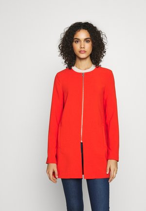 ONLJOYCE SPRING COAT - Kort kappa / rock - spicy orange