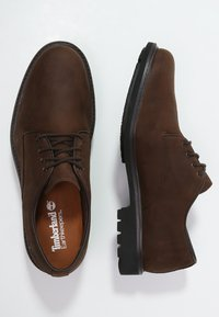 Timberland - STORMBUCKS - Lace-ups - burnished dark brown - 1