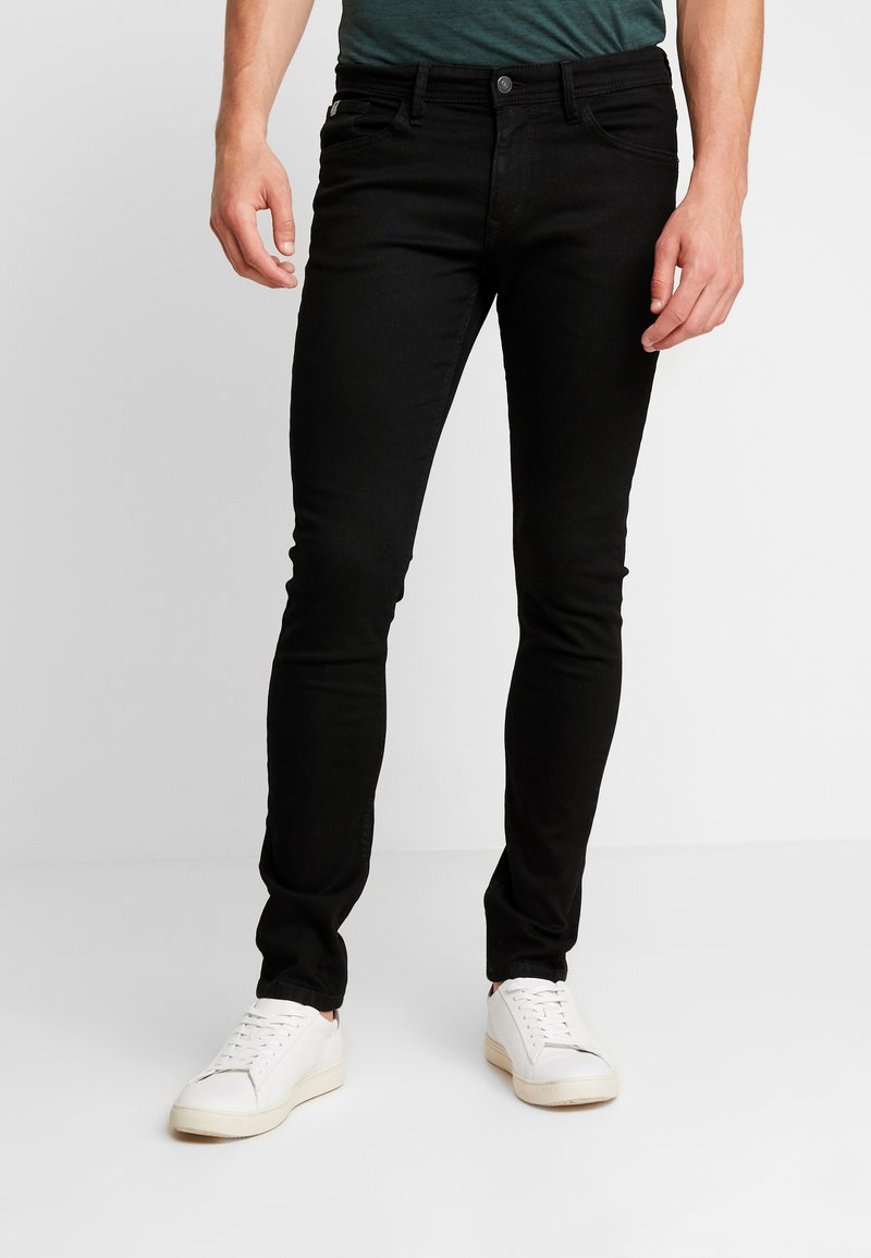 TOM TAILOR DENIM - CULVER PRICE STARTER - Jeans Skinny Fit - black denim