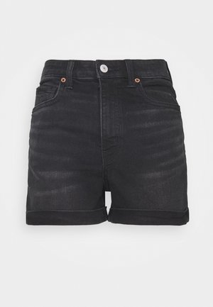 MOM - Jeansshorts - black wash