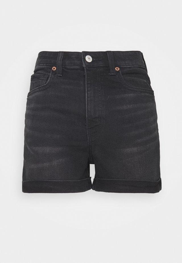 MOM - Shorts di jeans - black wash