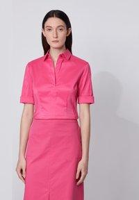 BOSS - BASHINI - Button-down blouse - pink - 0