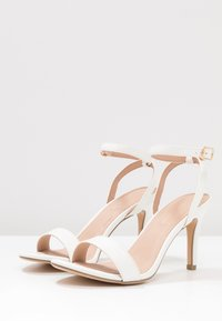 New Look - SCORPION - High heeled sandals - white - 4