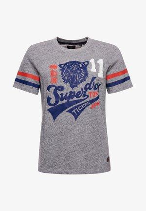 BONDED VARSITY  - Print T-shirt - collective dark grey grit