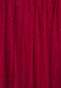 Needle & Thread - KISSES BALLERINA SKIRT - A-line skirt - deep red - 2