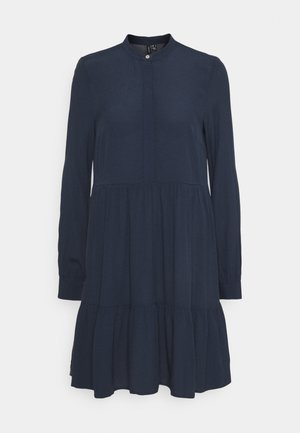 VMFLY SHORT DRESS  - Day dress - navy blazer