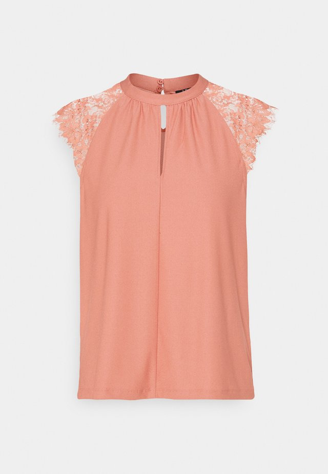 VMMILLA TEE - T-shirt imprimé - old rose