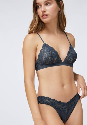 Triangle bra - dark blue