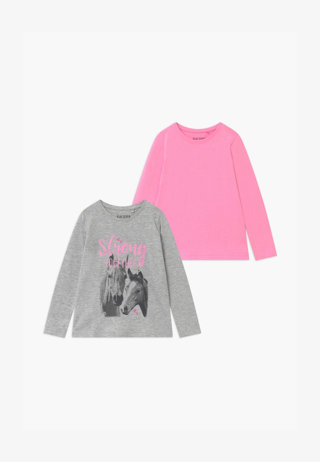 GIRLS STYLE 2 PACK - Maglietta a manica lunga - pink