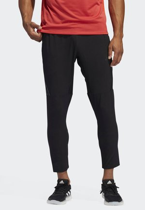 AEROREADY 3-STRIPES PANTS - Tracksuit bottoms - black