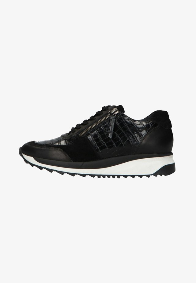 MIT KROKOMUSTER - Sneakers laag - black