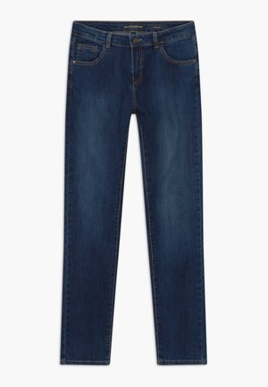PANTS CORE - Vaqueros slim fit - deep dark denim wash