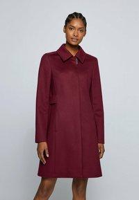 BOSS - CASENA - Classic coat - dark red - 0