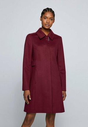 CASENA - Classic coat - dark red
