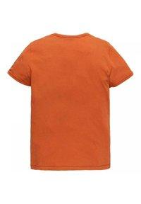 PME Legend - SHORT SLEEVE - Print T-shirt - orange - 1