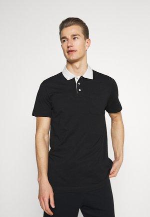SLHNIGEL - Polo shirt - black