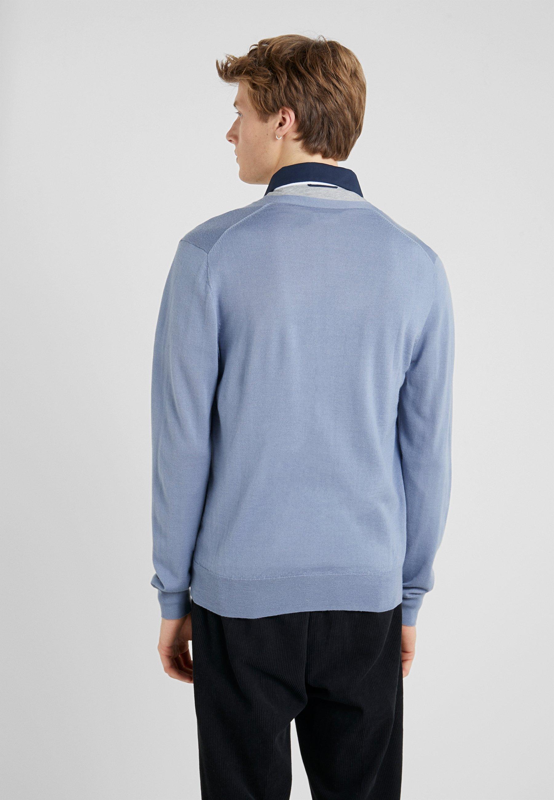 Hackett London Gilet - steel blue