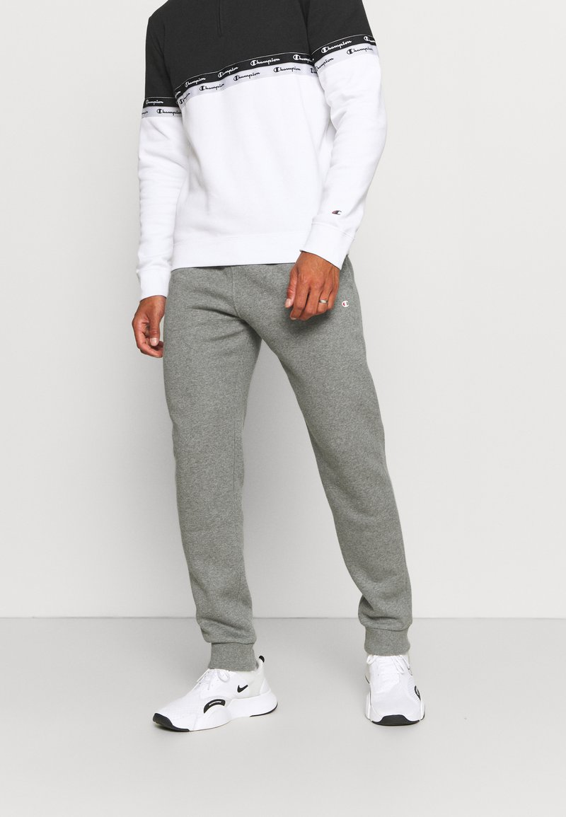 Champion - CUFF PANTS - Tracksuit bottoms - grey