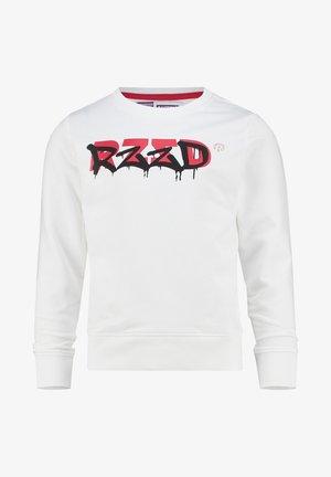 Sweatshirt - real white