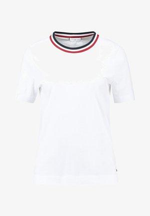 ESSENTIAL - T-shirt z nadrukiem - white