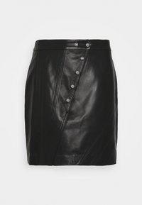 Iro - UNGA - Leather skirt - black - 0